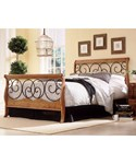 Dunhill Wooden Sleigh Bed Frame Set by Fashion Bed Group