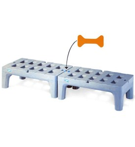 Industrial Grade Bow-Tie Dunnage Rack Image