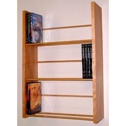 Three-Tier DVD Storage - Wall Rack by Woodform Image