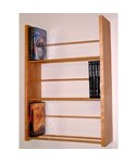 Three-Tier DVD Storage - Wall Rack by Woodform