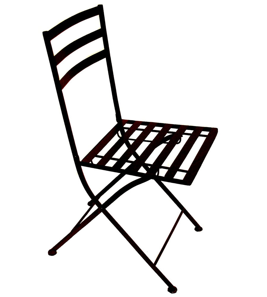 folding steel chairs  set of 2  in outdoor chairs