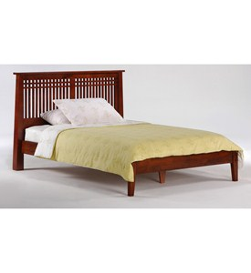 Eastern King Solstice Platform Bed by Night and Day Furniture Image