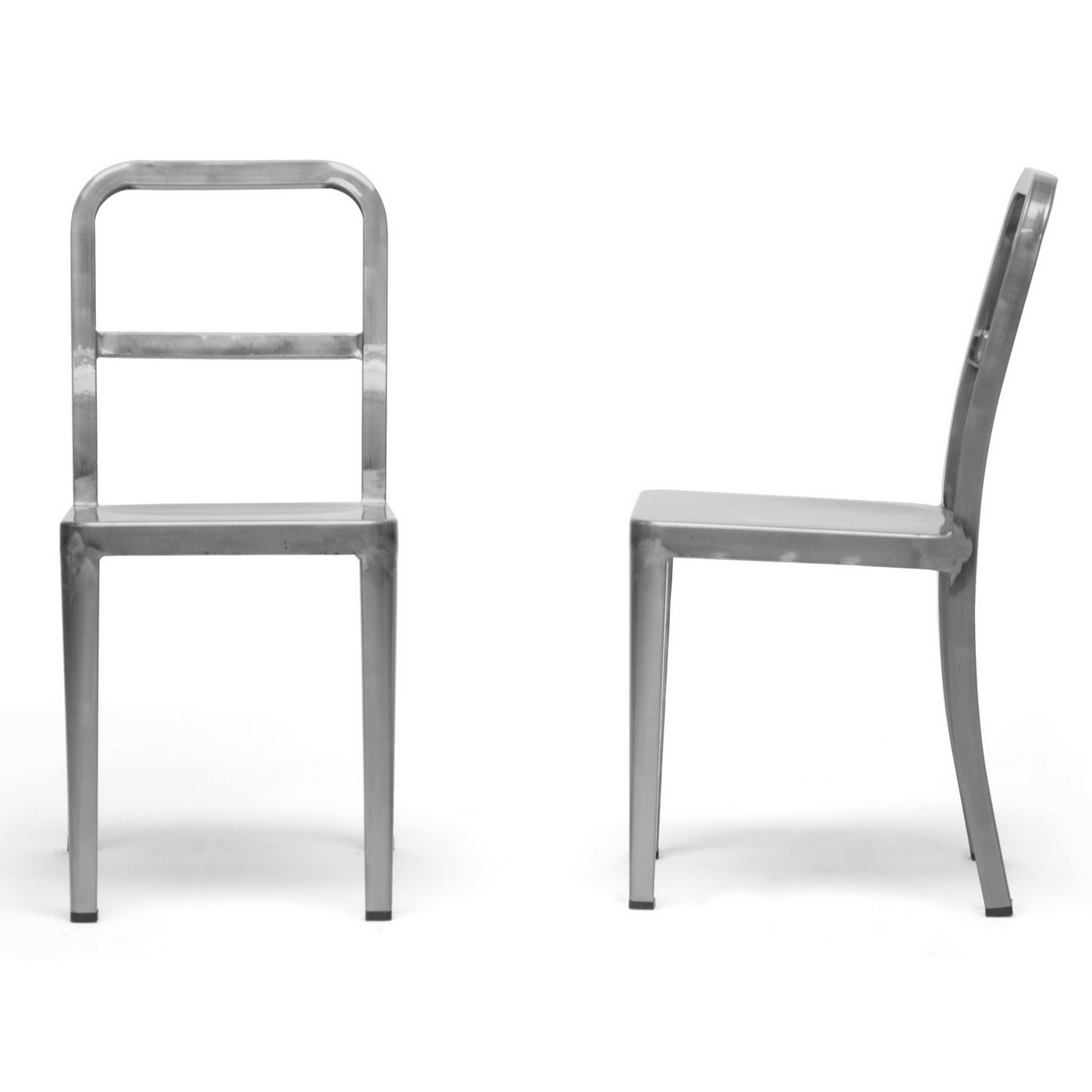 modern dining chairs gunmetal set of 2 price