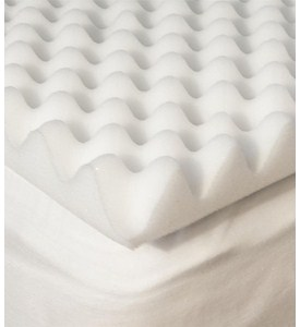 Egg Crate Mattress Pad Image
