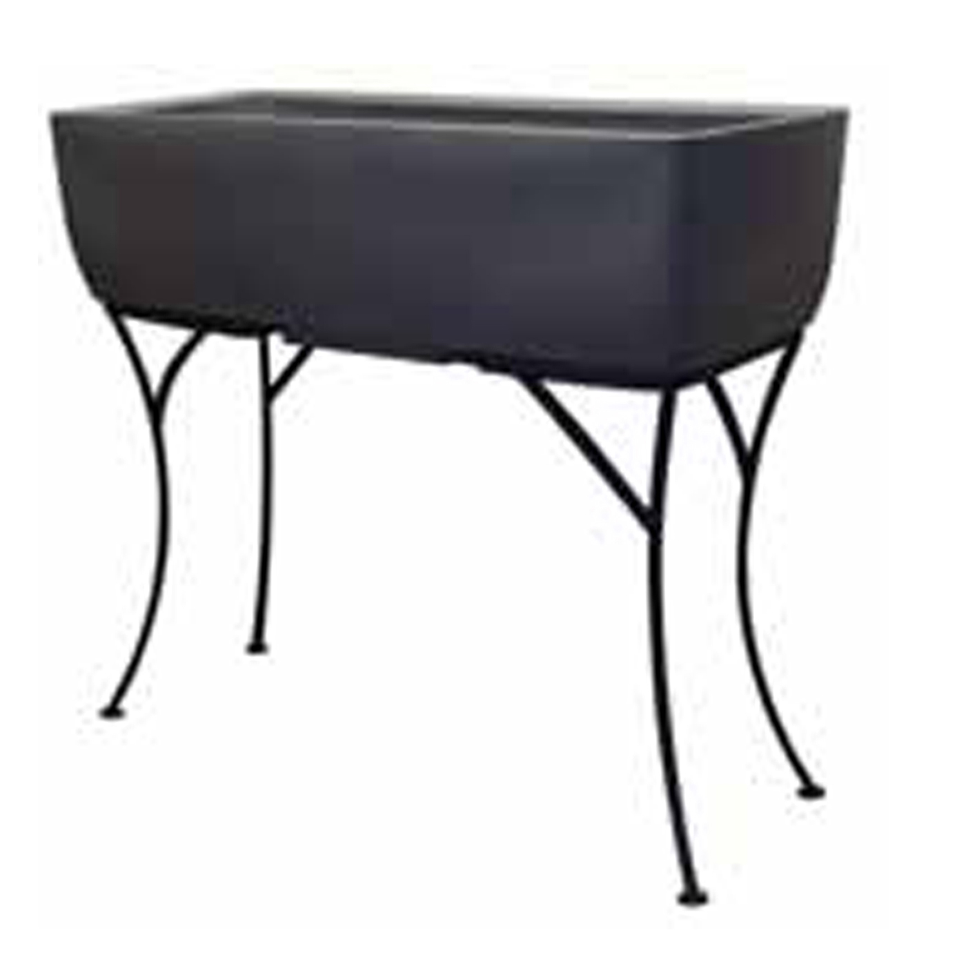 raised planter with stand in garden plant stands. Black Bedroom Furniture Sets. Home Design Ideas