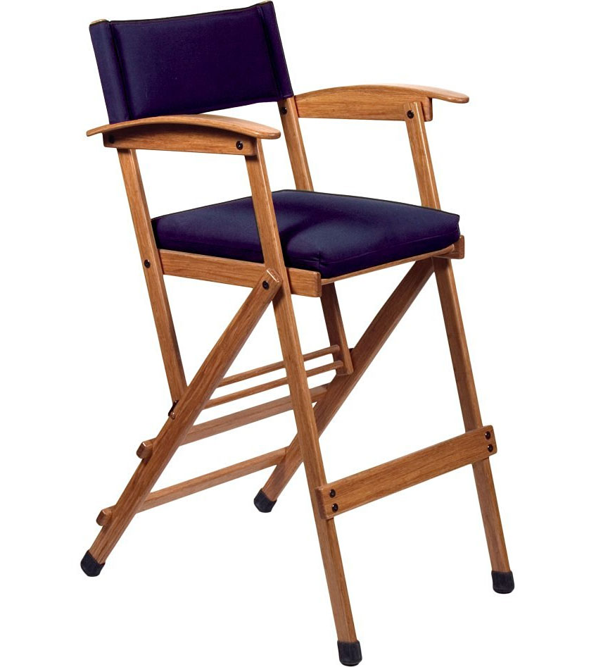 Tall Elm Directors Chair In Accent Chairs