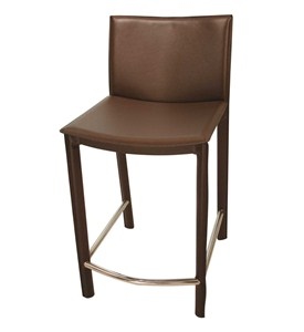 Elston Leather Stools by TAG Image