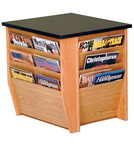 End Table - Magazine Rack Image