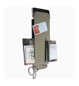 Magnetic Stainless Steel Entry Organizer Image