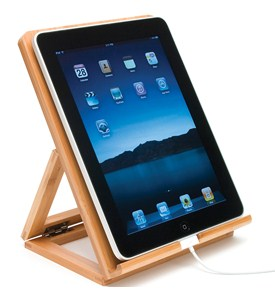 eReader Stand - Bamboo Image