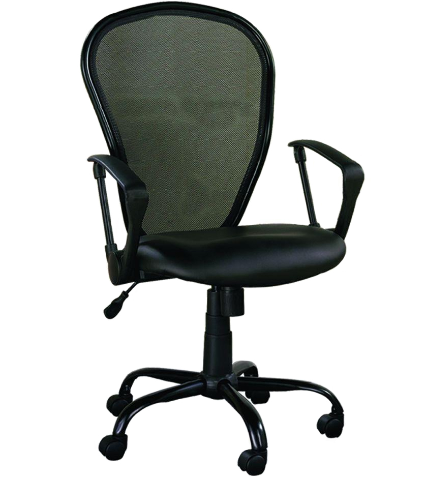 Ergonomic Office Chair Black Mesh In Office Chairs