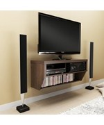 Espresso TV Stand and Entertainment Console
