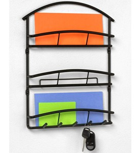 Euro Mail Organizer and Key Rack Image