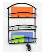 Euro Mail Organizer and Key Rack