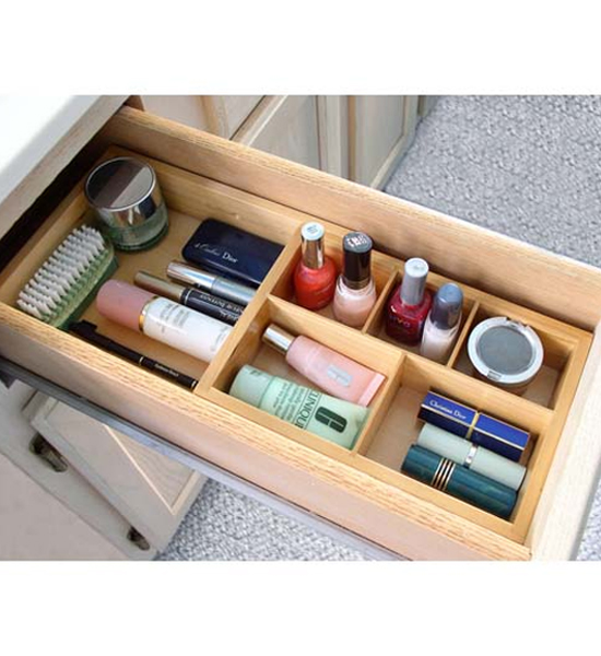Attractive Expandable Cosmetic Drawer Organizer Image