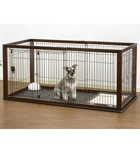 Expandable Dog Crate Image