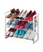 Expandable Shoe Rack - Holds up to 9 Pairs