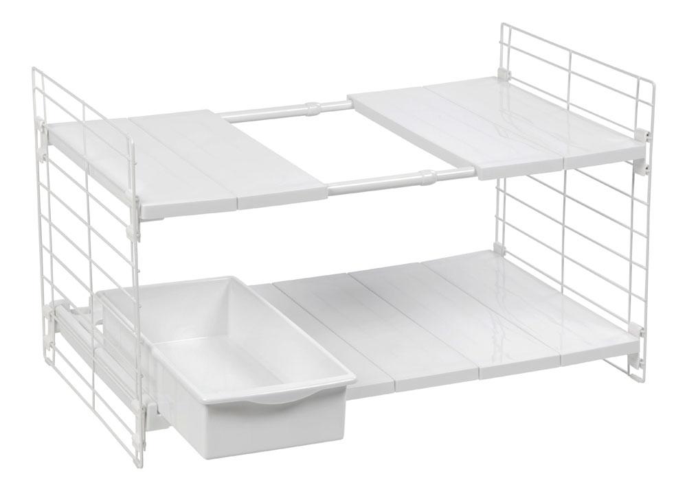 Expandable Under Sink Organizer In Under Sink Organizers