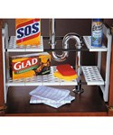 Expandable Under Sink Storage Shelf