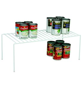 White Wire Extra Large Pantry Shelf In Cabinet Shelves