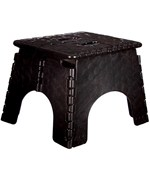 E-Z Foldz Folding Step Stool - Black