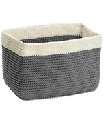 Fabric Basket - Gray