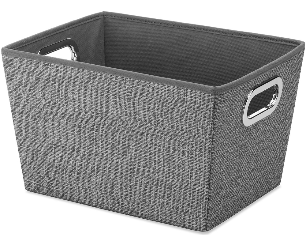 Uncategorized Fabric Bins fabric storage bin in shelf bins bin