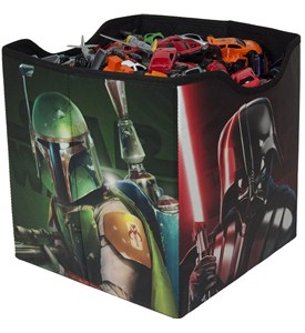 Fabric Storage Bin - Star Wars Characters Image