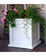 Fairfield Square Plastic Planters by Mayne