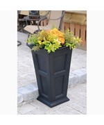 Fairfield Tall Plastic Planters by Mayne