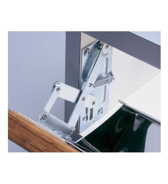 False Front Drawer Scissor Hinges (Set of 2) in Sink Organizers