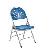 Fan Back Polyfold Folding Chair