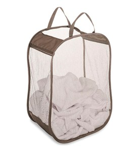 Pop and Fold Mesh Laundry Bag Image