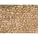 Faux Floor Mat - Stacked Stones