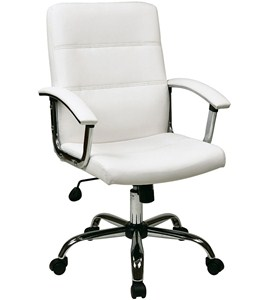 Faux Leather Office Chair Image