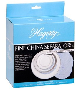 Felt Fine China Separators - Blue (Set of 48) Image