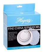 Felt Fine China Separators - Blue