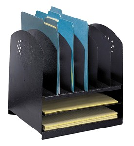 File Folder Desk Organizer Image