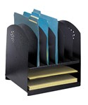 File Folder Desk Organizer