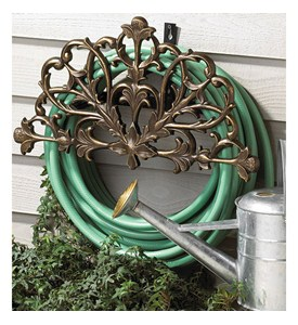 Filigree Garden Hose Holder Image