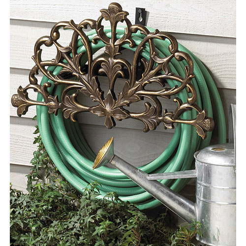 ... Filigree Garden Hose Holder Image