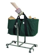 Firewood Carrier Bag and Rack