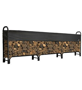 ShelterLogic Outdoor Log Rack - Large Image