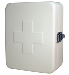 Wall Mount Home First Aid Kit Box Image