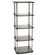 Five Tier Media Tower by Convenience Concepts