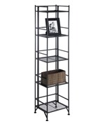 Five Tier Metal Folding Shelf