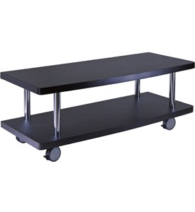 Flat Screen TV Stand - Black Image