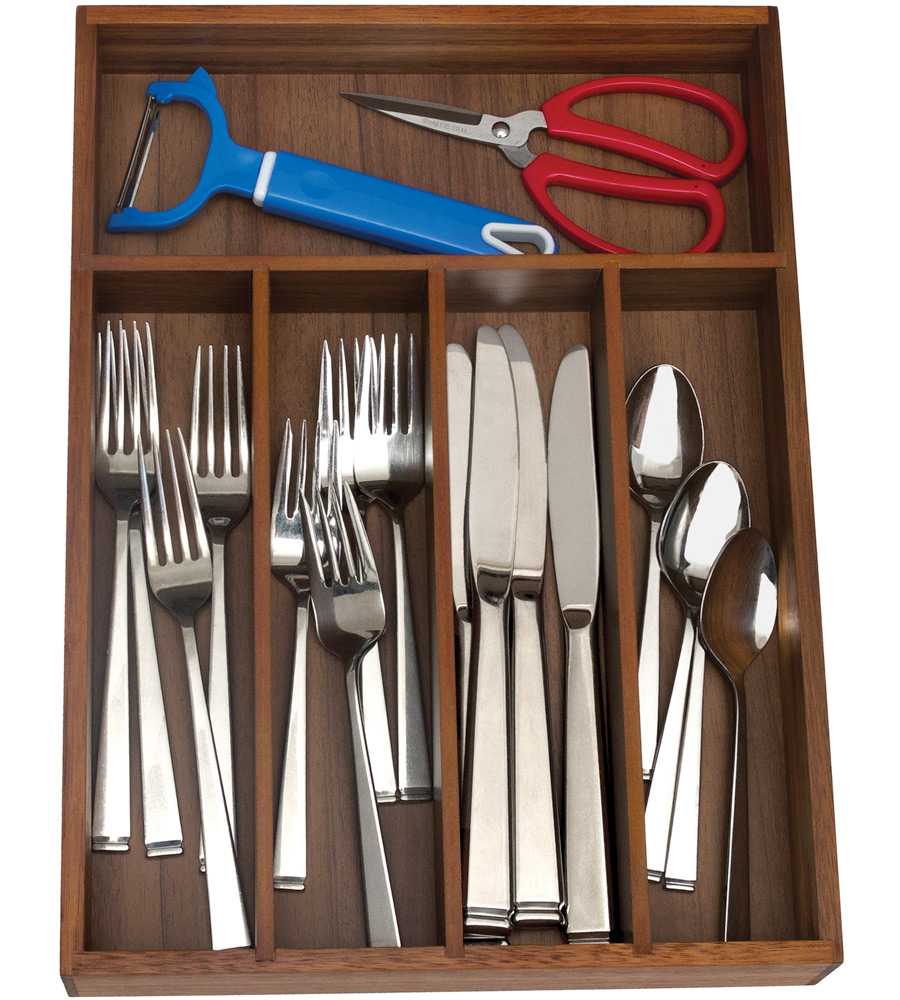 organizer kitchen home drawer ideas affordable flatware modern decor