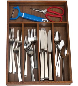 Flatware Drawer Organizer - Five Sections Image