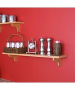 Floating 36 Inch Decorative Shelf